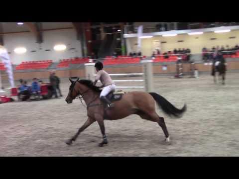 Lady von Bayern & Weronika Wilska 1st place 1.40 m