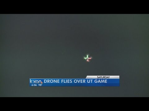UTPD Still Investigating Drone Flying over DKR Stadium