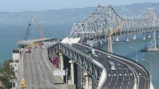 Time-lapse Of Bay Bridge Construction, Labor Day Weekend, 2009