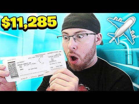My $11,285 PLANE TICKET TO SAUDI ARABIA!