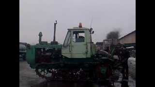 Трактор ХТЗ т-150 гусеничный