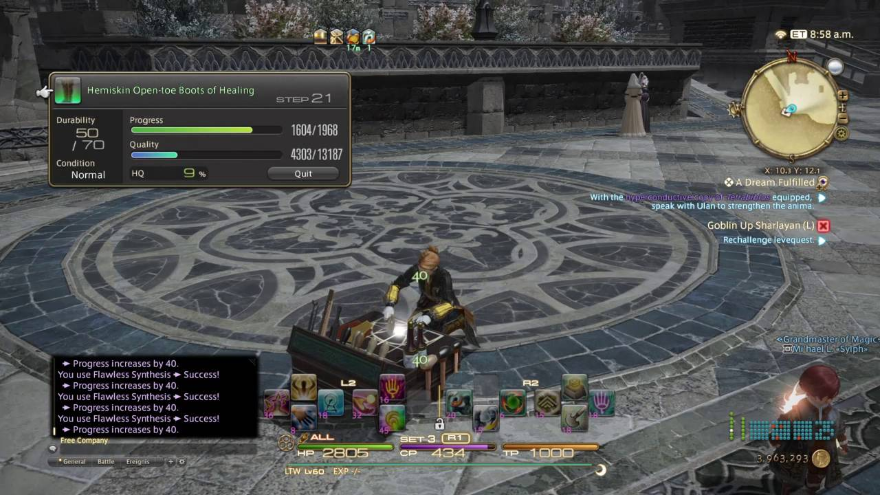 Final Fantasy  Crafting Rotation
