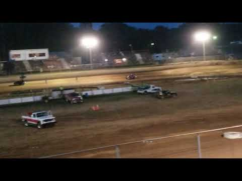 Twin Cities Raceway Park North Vernon Indiana September 21st Heat Justin Lewis #77