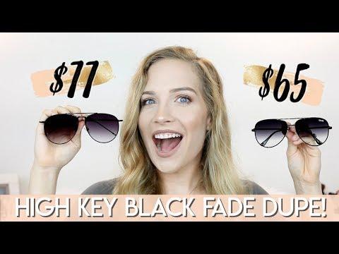 QUAY AUSTRALIA HIGH KEY DUPE! | DESI PERKINS HIGH KEY BLACK FADE | Makinze Lee