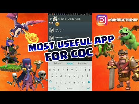 MOST USEFUL APP WHICH WILL HELP YOU WIN WARS IN CLASH OF CLANS 😍😎 PLAN AND ATTACK 🇮🇳😎