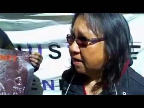 [Toronto] #idlenomore-Anisinabe Algonquins Protest Resolutes Clear-Cut Logging of Natural Forest.
