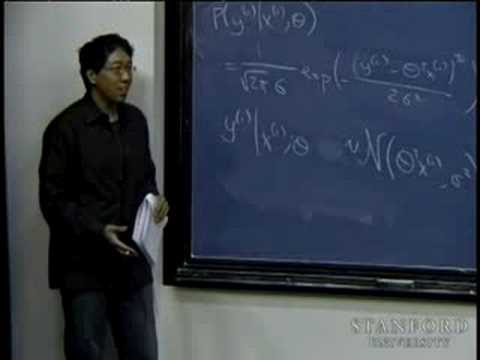 Lecture 3 | Machine Learning (Stanford)