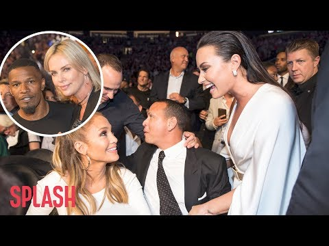 The Mayweather McGregor Fight was a Star Studded Event | Splash News TV