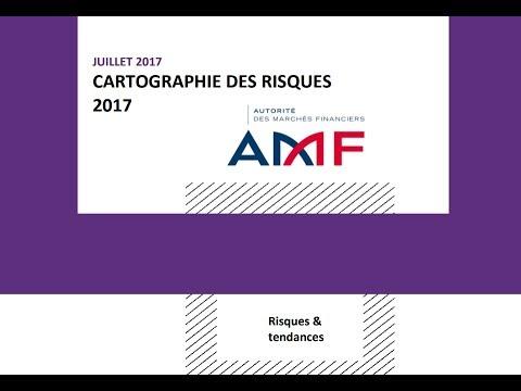 Etude du Rapport Annuel de l'AMF de Cartographie des Risques sur les Marchés pour 2017