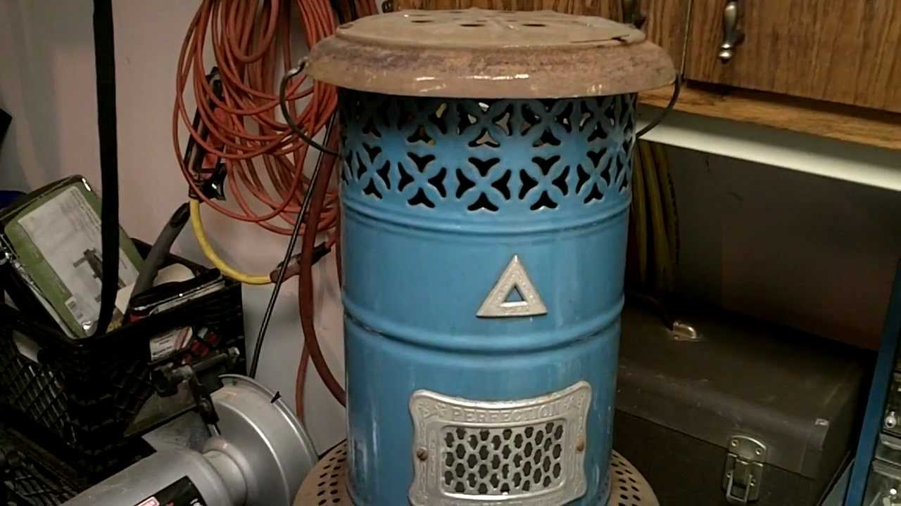Perfection Smokeless Oil Heater No 630 Youtube
