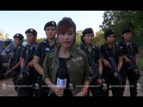"""""""ตำรวจพลร่มหญิง"""" หญิงเหล็กแห่งค่ายนเรศวร - Springnews"""