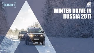 ROAD TRIP : SNOW DRIVE In RUSSIA