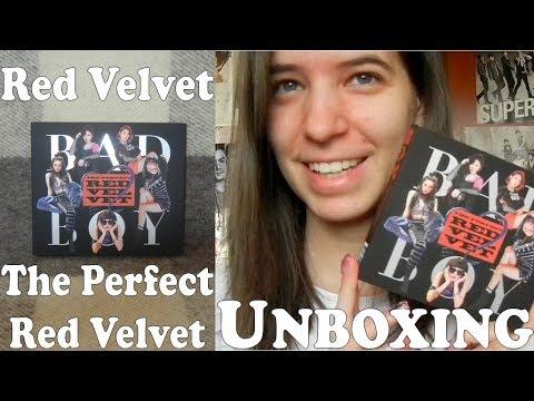 Unboxing - Red Velvet - The Perfect Red Velvet - 1st album repackage