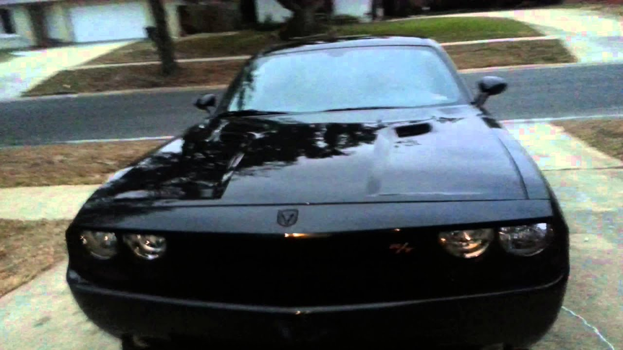 Dodge Challenger R/T blacked out - YouTube