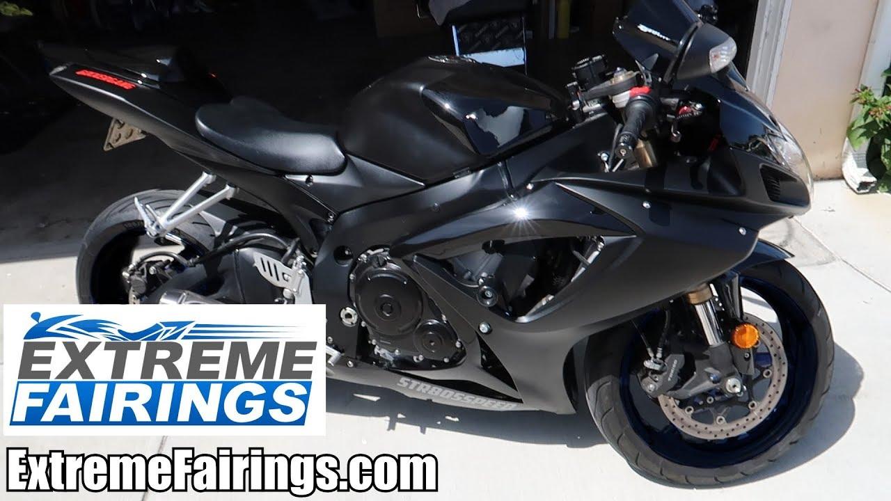 NEW FAIRINGS! | How To Install- Suzuki GSXR 600