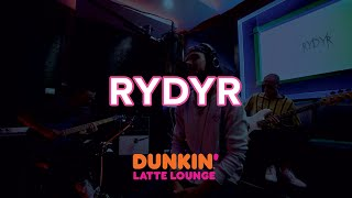 RYDYR Performs 'If This Is Love,' 'Dream Alone' + More At The Dunkin Latte Lounge