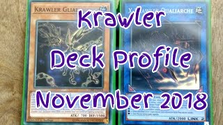 Krawler Deck Profile November 2018 Yugioh! BudgetDecks