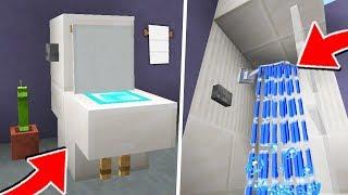как сделать в майнкрафте туалет и ванную