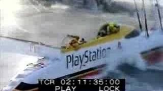 Playstation in BIG WAVES