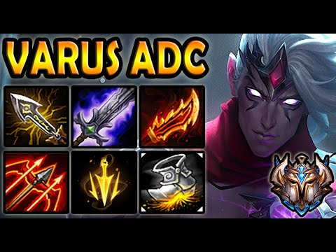 Varus vs Ashe [ ADC ] Lol Korea Challenger Patch 10.21 ✔️
