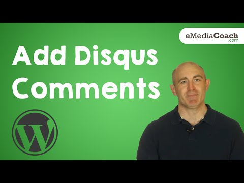 Add Commenting To Your WordPress Blog - Disqus