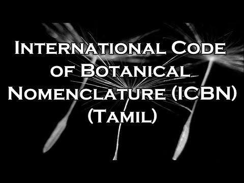 International Code of Botanical Nomenclature (ICBN) 12TH STANDARD BIO BOTANY