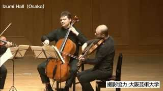 Arcadia Quartet plays Joseph Haydn - String Quartet Op. 50 No. 3