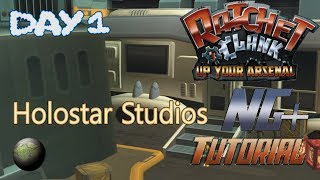 """Ratchet and Clank: Up Your Arsenal NG+ Speedrunning Tutorial - """"Day 1"""" Holostar Studios"""