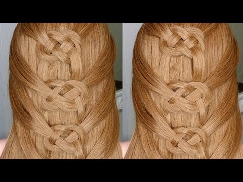 Easiest Way To Do A Celtic Braid YouTube