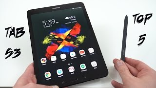 Samsung Galaxy Tab S3: Top 5 Features Better Than iPad Pro!