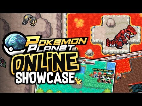 Pokemon Planet Online!? - Pokemon MMORPG Showcase!