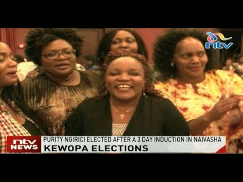 Kirinyaga Woman Rep. Purity Wangui Ngirici elected new chair of Kewopa
