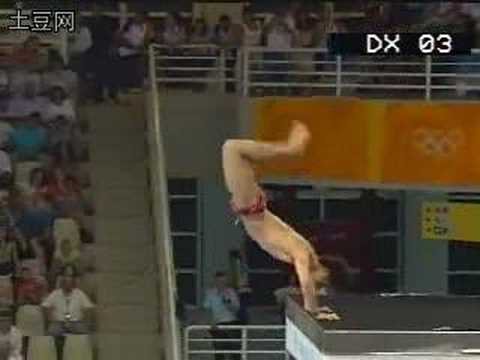 Tian Liang dives