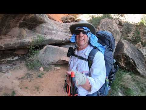 Solo Backpacking Fish Canyon In Southern Utah