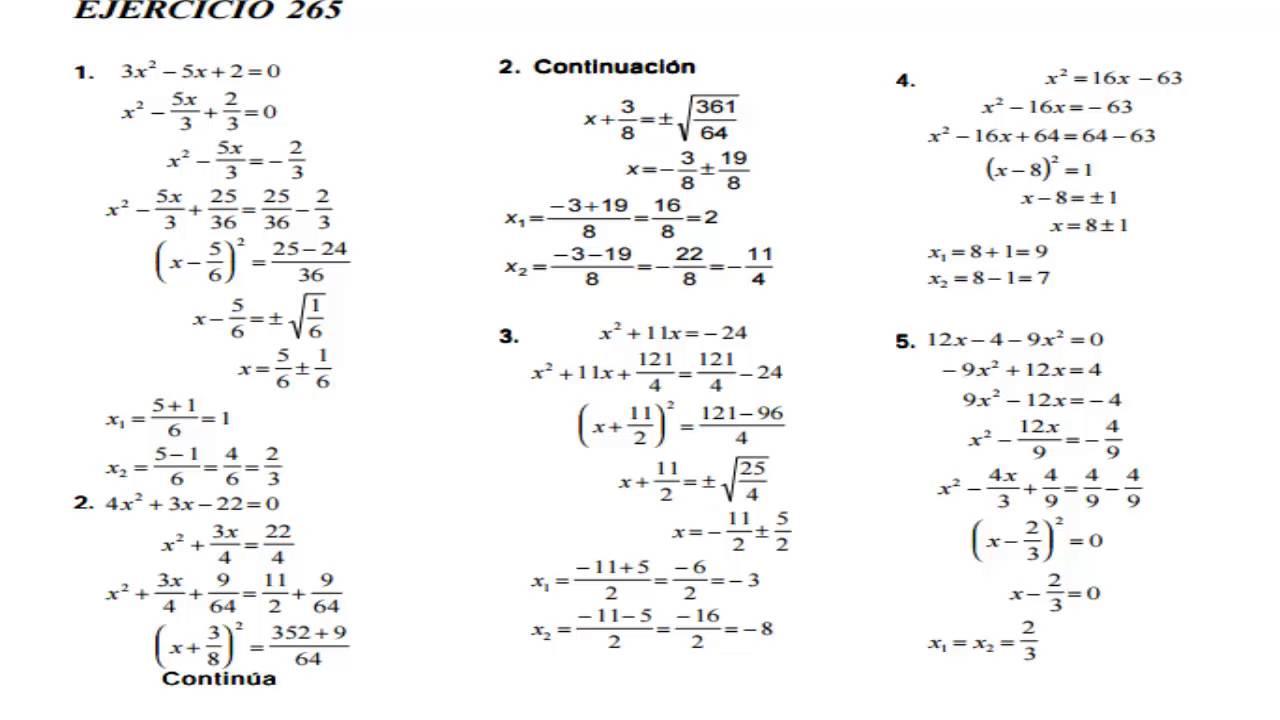 libro de algebra de baldor ejercicios resueltos pdf