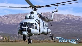 Download Video Mil Mi-8 AK Sinj Parachute Jump & EPIC! Low Pass Action! MP3 3GP MP4