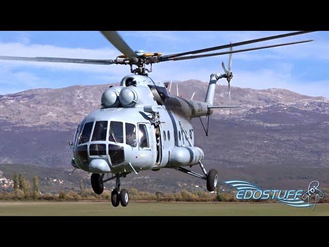 Mil Mi-8 AK Sinj Parachute Jump & EPIC! Low Pass Action!