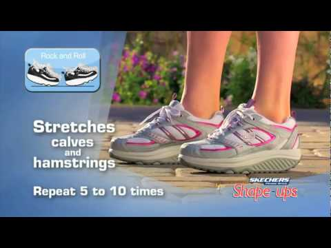 dbb9459a0a6 Skechers Shape-Ups Instructional Video - YouTube