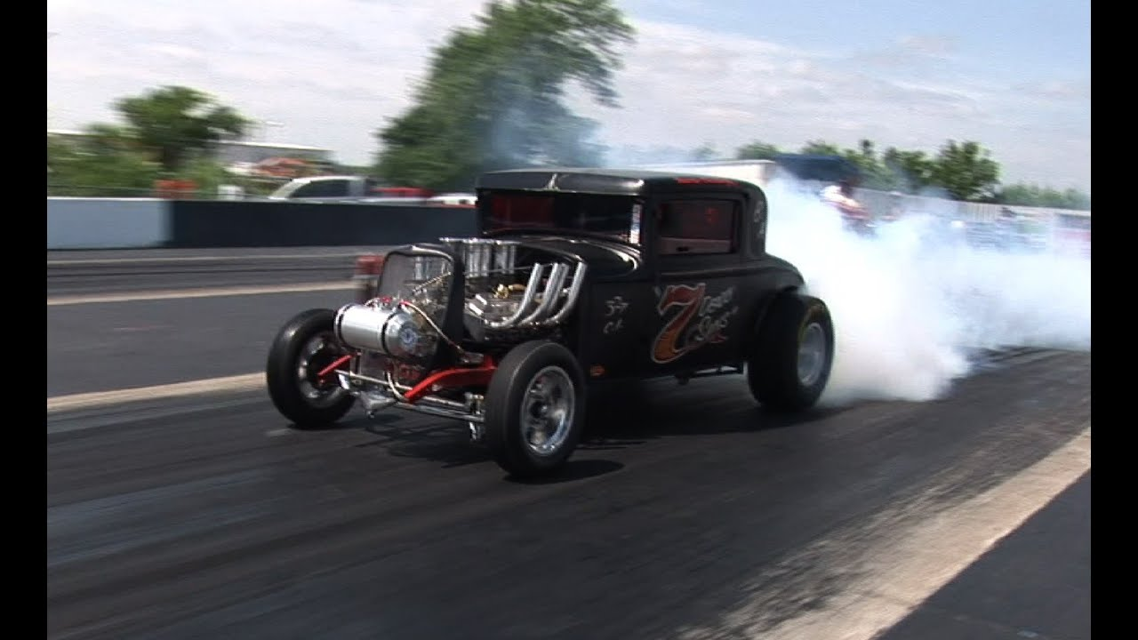 Old School Gasser Drag Racing - Tulsa Raceway Park