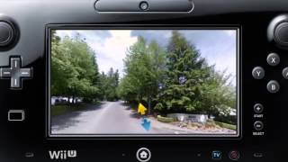 Google Street View Wii U Demonstration