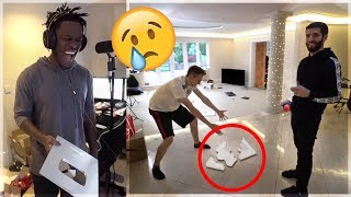 Sidemen DESTROY My YouTube Plaque?