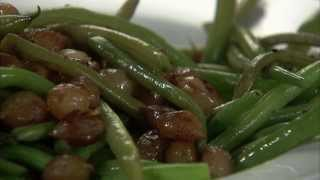 Green Beans With Pearl Onions Hd
