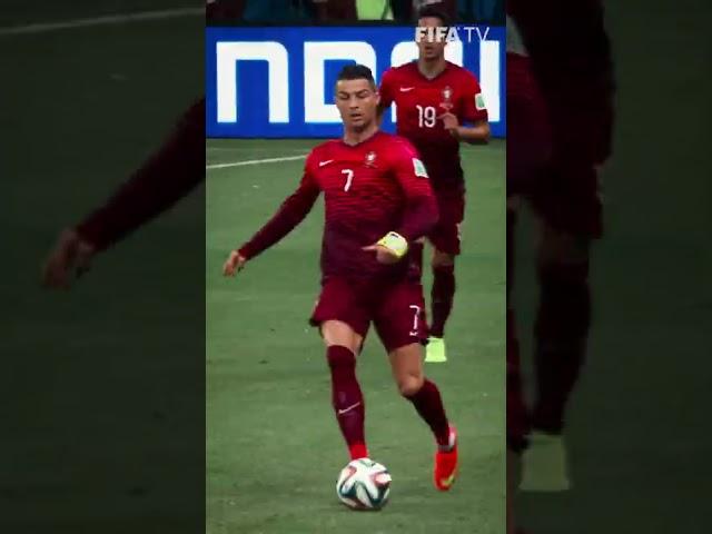🔥 Skills + armband = Cristiano Ronaldo | #Shorts