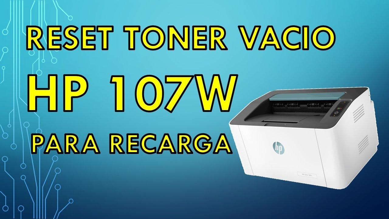 Recarga toner HP 105a | 107w – Con Instalación de Firmware Reset HP 107 | 135 | 137 | 150 |178 |179
