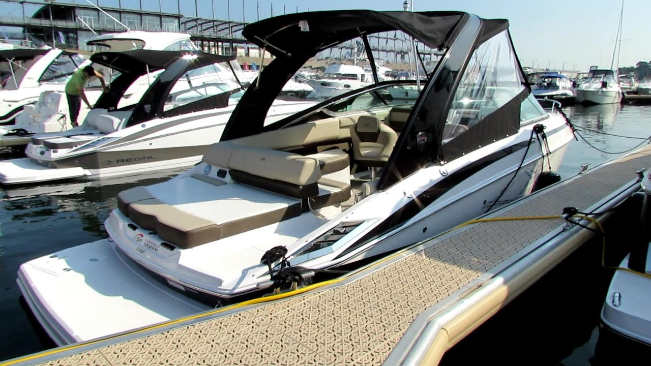 Regal Dachschrage Design: 2014 Regal 2550 Motor Boat