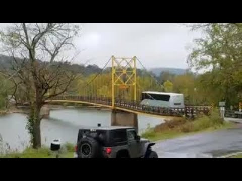 Dan Joyce - (WATCH) Big Bus On A Little Bridge