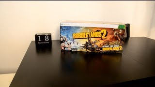 [HD] Unboxing - XBOX 360 - Borderlands 2 Ultimate Loot Chest Limited Edition