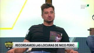 ¡Nicolás Peric cuenta sus anécdotas en Abrazo de Gol!