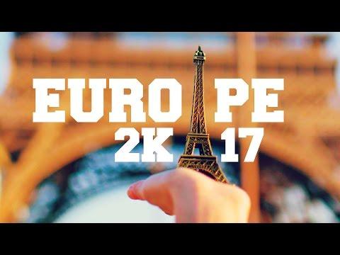 Travel Europe 2k17 - France, Switzerland & Italy | GOPRO 4K - RVSNfilms