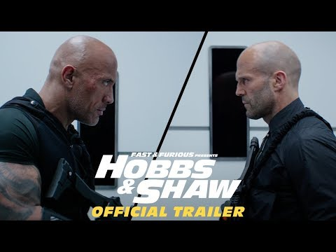 Hobbs & Shaw trailer pits Dwayne Johnson and Jason Statham against 'black Superman'